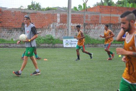 Time do técnico Michael Böhm estreia em casa contra o Grêmio Bagé (New Co DSM/Lucas Amorelli)