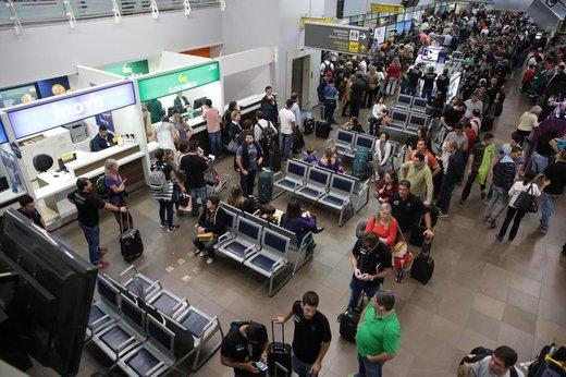 Estrutura do terminal de passageiros está deficitária (Agencia RBS/Betina Humeres)