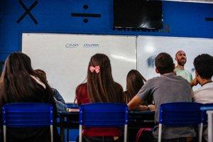 Aulas na escola Nereu Ramos, em Santo Amaro da Imperatriz (Agencia RBS/Diorgenes Pandini)