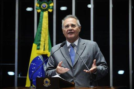 Renan Calheiros avisou que texto sofrerá modificações quando chegar ao Senado (Agência Senado,Divulgação/Marcos Oliveira)