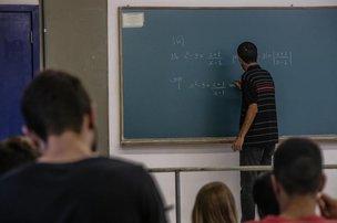 Após a implantação da disciplina de proficiência, a média da primeira avaliação de Cálculo I (a primeira da graduação) foi de 3,2 para 7,0 (DC/Betina Humeres)