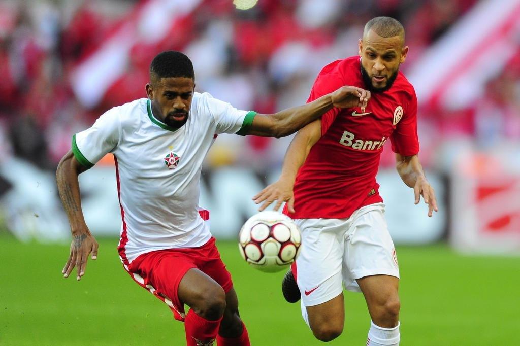 PORTO ALEGRE RS BRASIL 01/07/2017 No Estádio Beira-Rio Inter recebe o Boa Esporte pela 11ª rodada da Série B do Brasileirão. Na