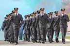 Turma de oficiais que se formou em 2012 no Estado (Divulgação/Paulo Santana)