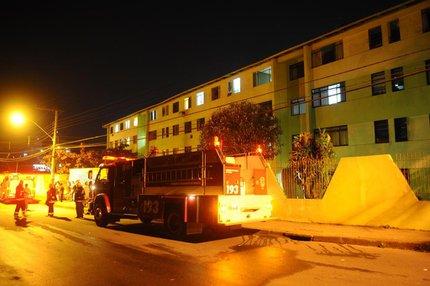 Vazamento de gás durante impermeabilização pode ter sido causa da explosão (Agencia RBS/Maykon Lammerhirt)