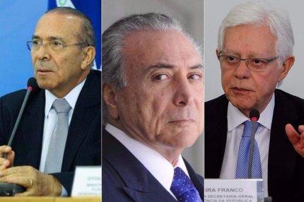 (Agência Brasil,ABR e PR/Montagem com imagens de Valter Campanato,Antonio Cruz e Guilherme Britto)
