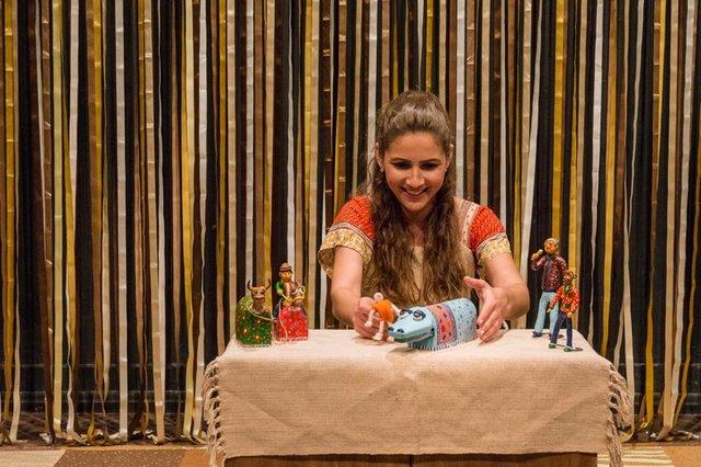 Espetáculo Vem Ver Noso Boi Brincar, na Casa da Cultura Dide Brandão, em Itajaí, Santa Catarina.Local: ItajaiIndexador: Ze Paiva / Vista Imagens