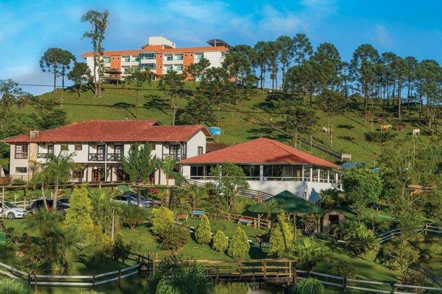 O Hotel Fazenda Dona Francisca é uma das opções de passeio para a primavera em Joinville