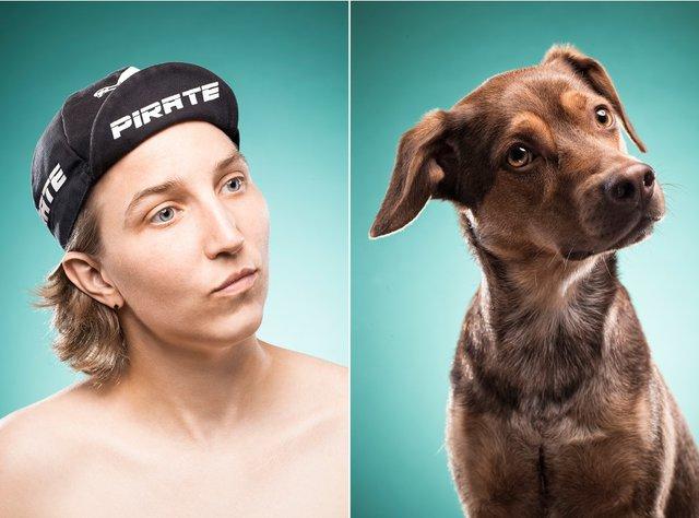 Cachorros iguais aos donos