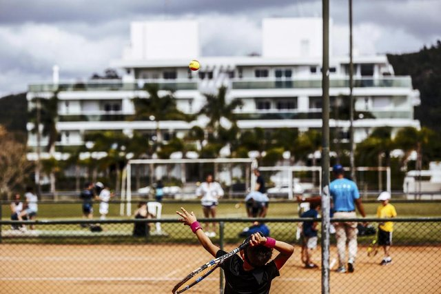 FLORIANOPOLIS, SC, BRASIL, 05.10.2017: Semana Guga Kuerten começa hoje. (Foto: Diorgenes Pandini/Diário Catarinense)
