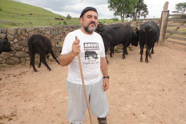 Zé Alberto Andrade, comunicador da Gaúcha que também é produtor