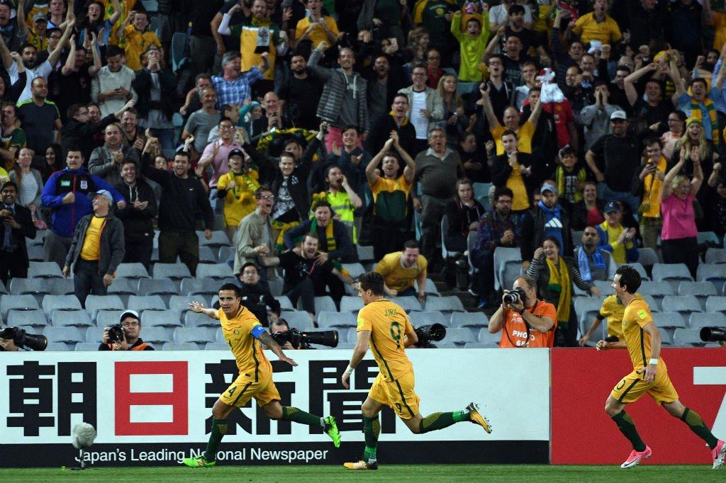 Austrália acaba com sonho da Síria de disputar Copa do Mundo