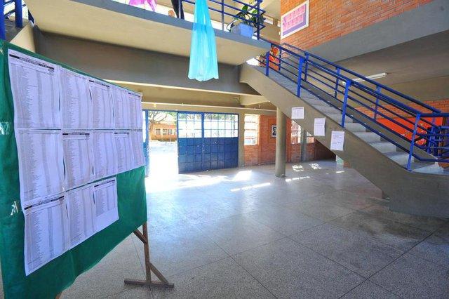 SANTA MARIA, RS, BRASIL, 04-11-2016.Preparativos para o Enem. Na foto Escola Básica Estadual Dr. Paulo Devanier Lauda.FOTO: GERMANO RORATO/AGÊNCIA RBS, GERAL