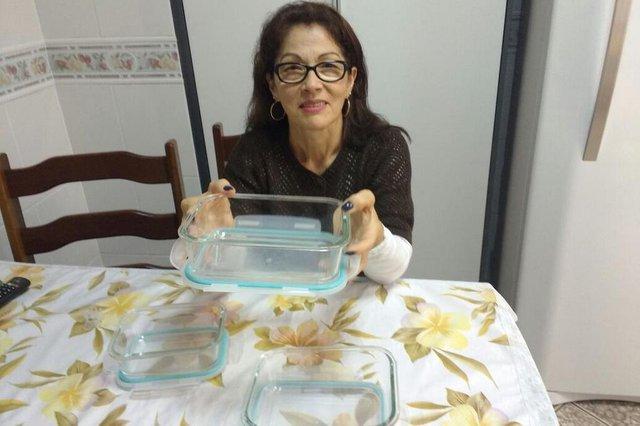 A dona de casa Eni de Oliveira Rosa, 60 anos, usou o kit Junte & Ganhe