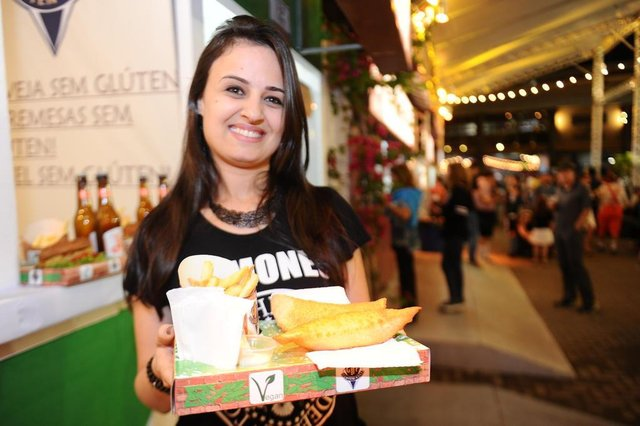 Blumenau - SC - Brasil - 11102017 - Oktoberfest 2017. noite de terça.