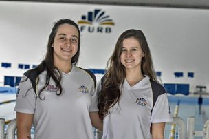 Bons resultados no Estadual credenciaram Daiane e Rebeca para a competição (Divulgação/Sidnei Batista)