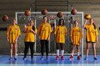 Kamille, Vitória, Lidiani, Marina, Maria Eduarda e Kamilla são algumas das atletas que integram o time (New Co/Charles Guerra)