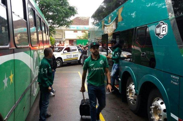 Protesto dos torcedores do Juventude após quarta derrota seguida na Série B