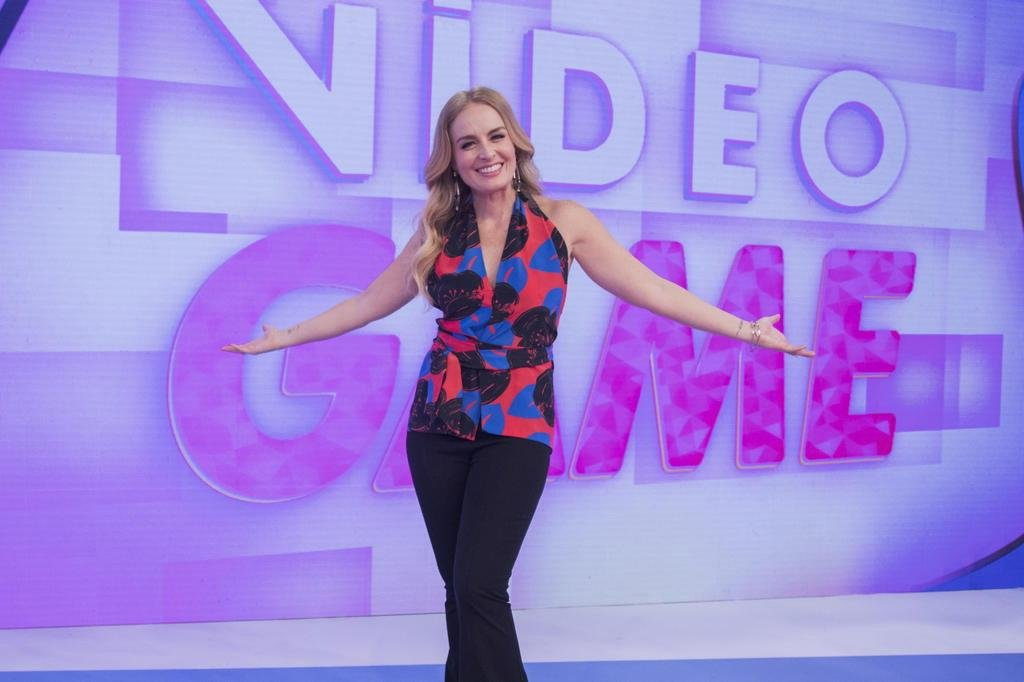Angélica volta ao 'Vídeo show' para temporada especial do 'Vídeo game'