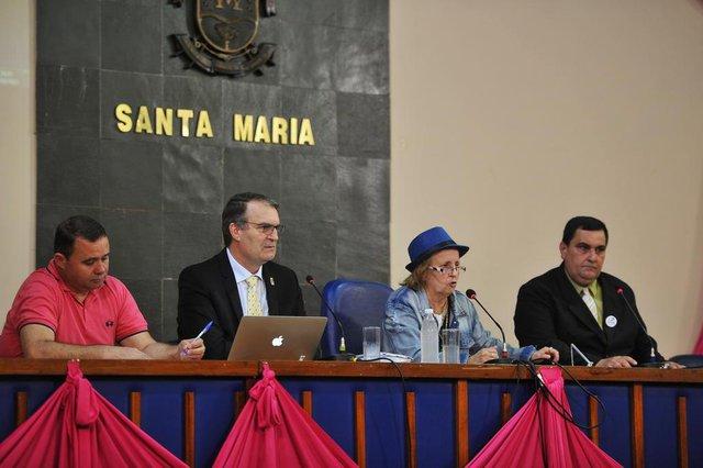 Santa Maria - RS - BRASILAudiência pública da Frente Parlamentar das Instituições  de Ensino na Câmara de Vereadores