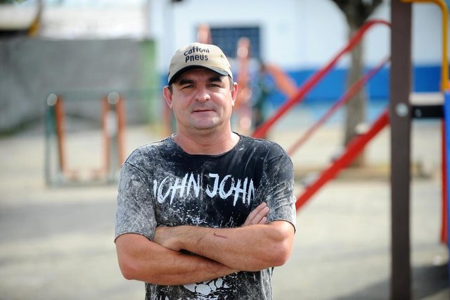 JOINVILLE, SC, BRASIL (27-10-2017) - Rolf Otto morador do Jardim Paraíso em Joinville. (Foto: Maykon Lammerhirt, A Notícia)
