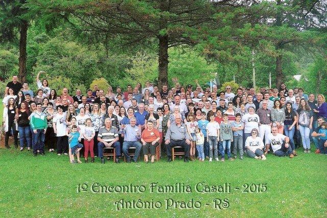 Encontro família Casali