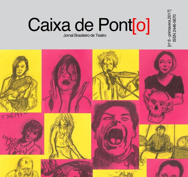 6ª edição do jornal brasileiro de teatro Caixa de Pont[o].