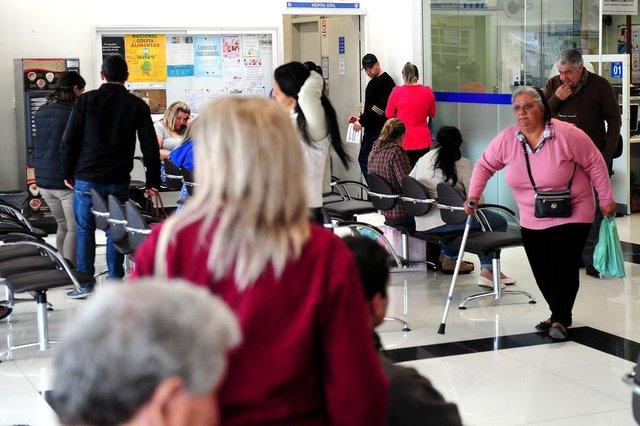 CAXIAS DO SUL, RS, BRASIL, 03/11/2017. Levantamos a situação dos hospitais na Serra Gaúcha. Na foto, o Hospital Geral de Caxias do Sul. (Diogo Sallaberry/Agência RBS)
