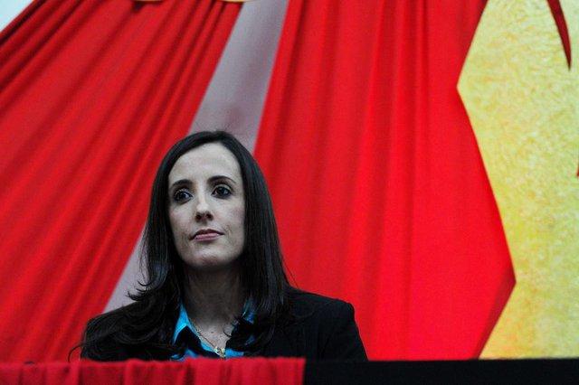 Santa Maria, RS, Brasil, 01/09/2017.Jerusa Vicielli, procuradora da força-tarefa da Lava-Jato.Indexador: GERMANO RORATO