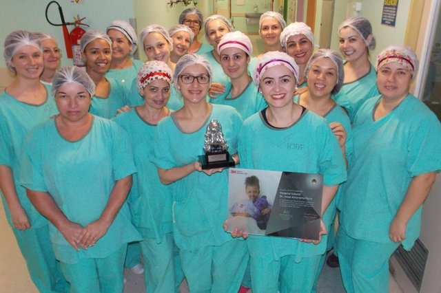 Centro Cirúrgico do Hospital Infantil Dr. Jeser Amarante Faria, de Joinville,