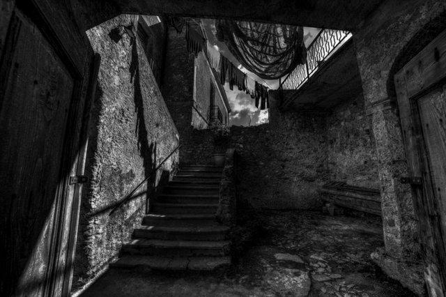 imagem da exposição Luci & Ombre, do fotógrafo italiano Nicodemo Misiti