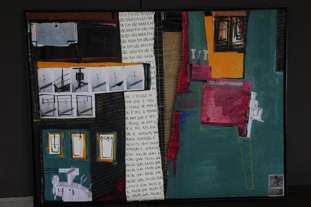 CAXIAS DO SUL, RS, BRASIL, 18/09/2017. Inaugura nesta terça-feira o XI Salão Campus 8 e 4º Prêmio Koralle, que leva ao centro acadêmico do bairro Samuara trabalhos artísticos de estudantes de Artes Visuais. (Porthus Junior/Agência RBS)