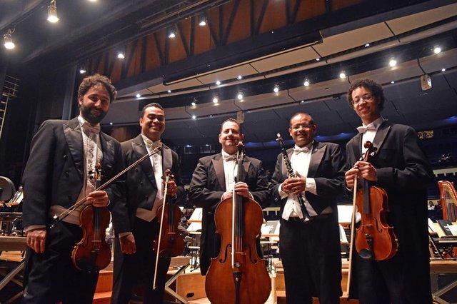 Quarteto de Cordas e Clarinete do Margs