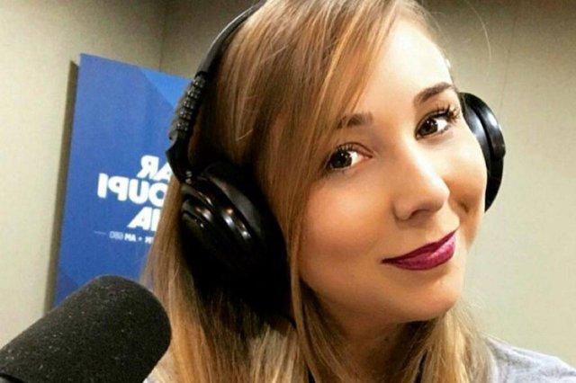 A comunicadora da Rádio Farroupilha Mari Araújo