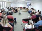 Alunos dos cursos de Letras e Administração do ensino a distância na UFSC compareceram na audiência realizada na Justiça Federal, em Florianópolis, em novembro de 2017 (Imprensa Justiça Federal SC/Jairo Cardoso / Imprensa Justiça Federal SC)