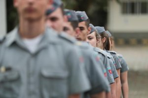 Florianópolis já possui unidade do Colégio Policial Militar desde 1984 (Diário Catarinense/Cristiano Estrela)