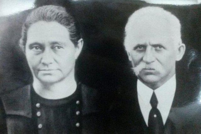 Carolina Morateli e Girólamo Modena