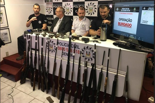 armas vendidas por whatasapp são apreendidas