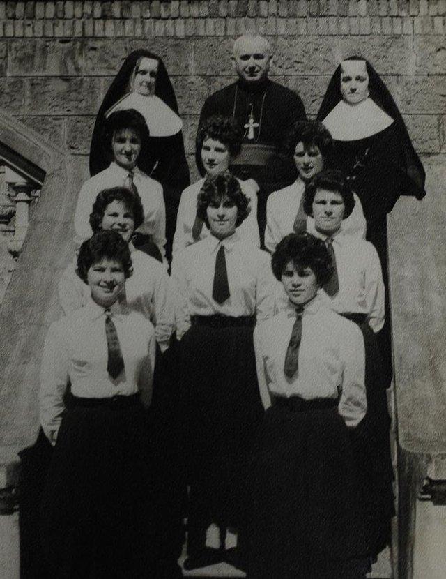 Formandas do 4ª Ginasial de 1959