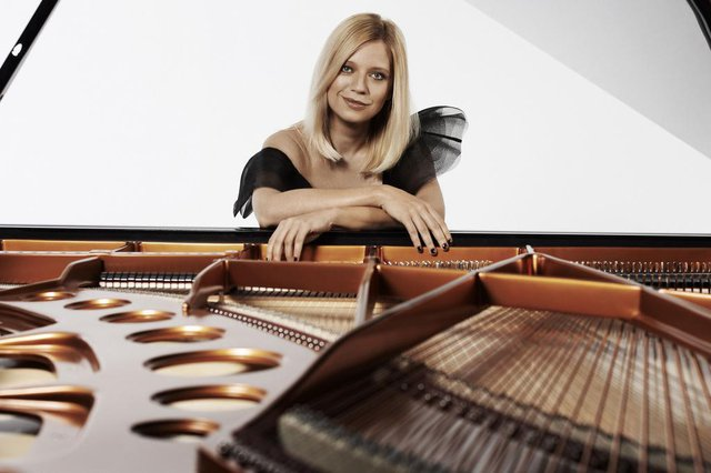 A pianista clássica ucraniana Valentina Lisitsa.