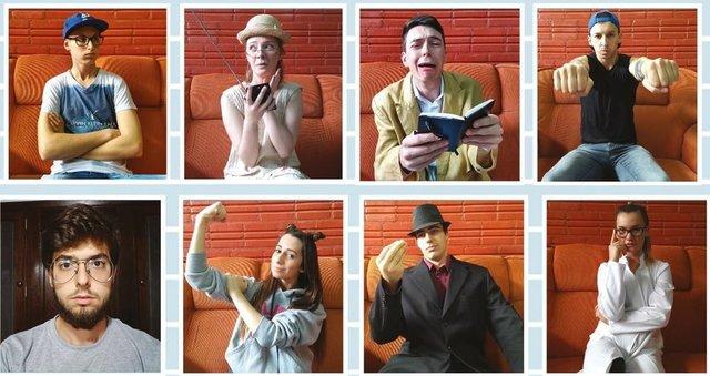 Grupo fulanos de tal apresenta a peça Ninguém Precisa de uma Comédia no Sofá