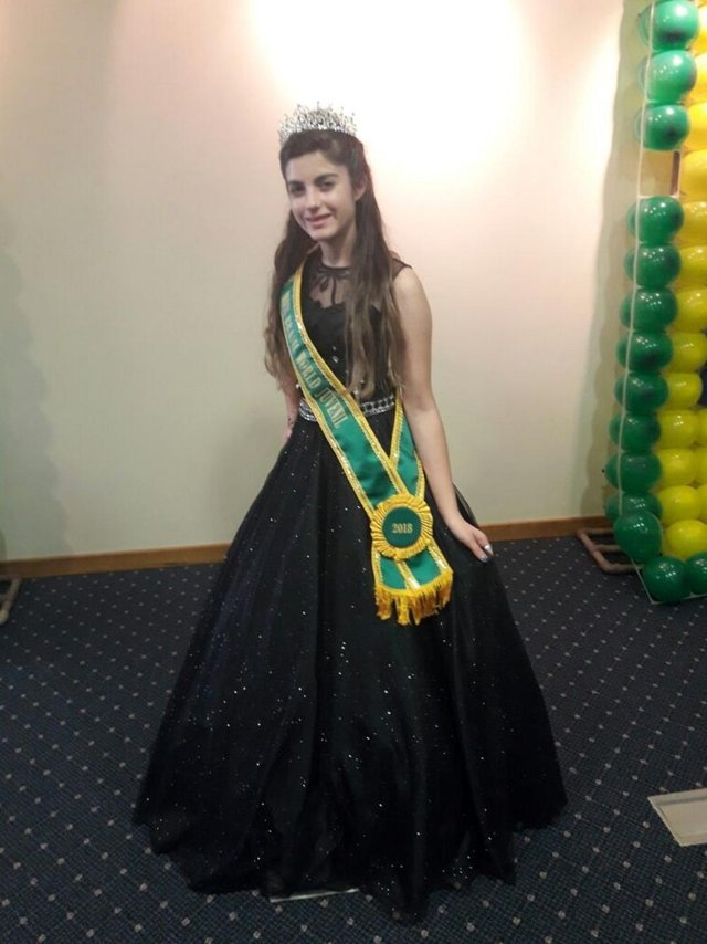 Kamilli Lucena, de Caxias, na categoria Miss Brasil World