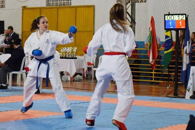 Márcia Mafra, da FMD Blumenau e Federação Catarinense de Karate, sagrou-se campeão do Pré-Olímpico Nacional, na categoria Kumitê até 55 quilos e vai representar o Brasil no Pan e Sul-Americanos Sênior