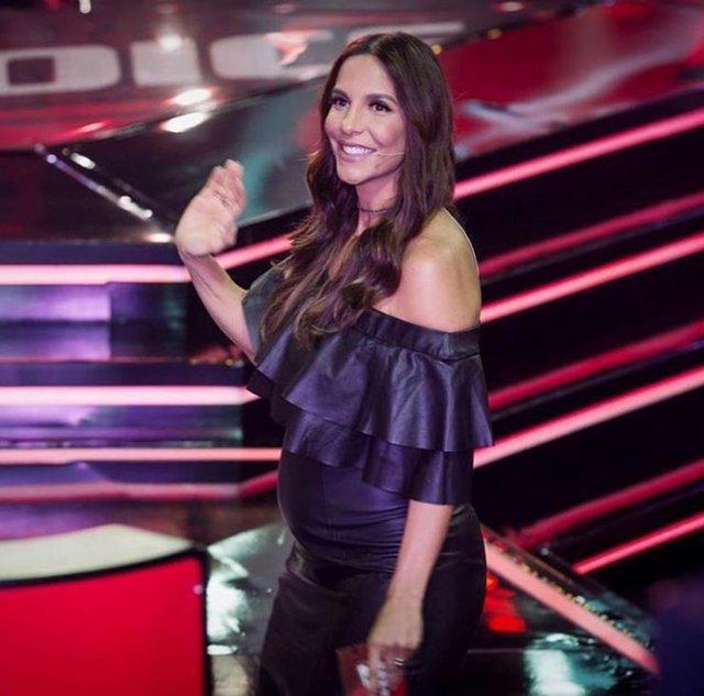 Ivete Sangalo no The Voice Brasil.