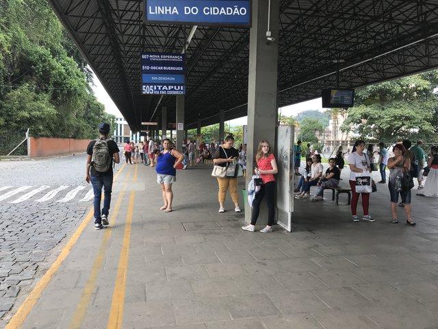 Protesto transporte coletivo