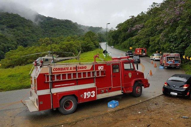 Resgate de casal que ficou 36 horas na mata após acidente