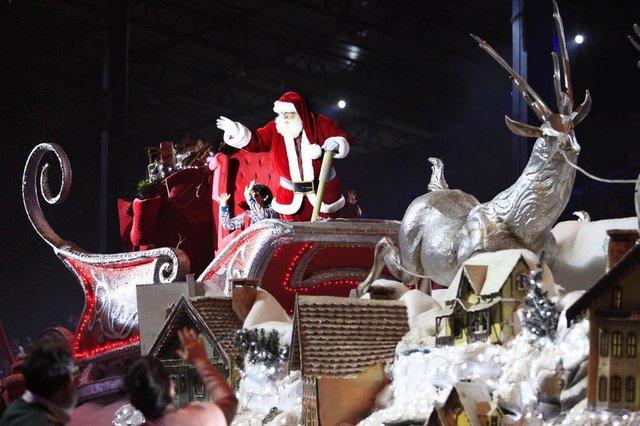 Natal Luz de Gramado. Grande Desfile de Natal.