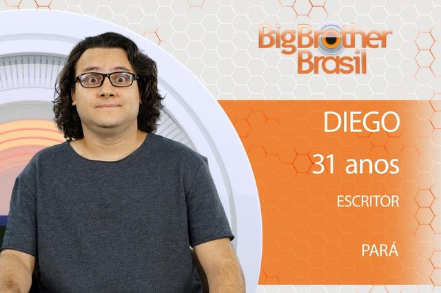 Diego, BBB, participante, Big Brother