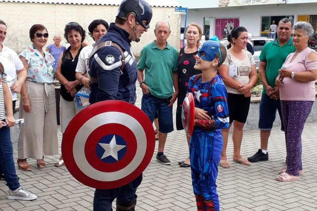Harumi Pinheiro, menina, leucemia, Capitão América