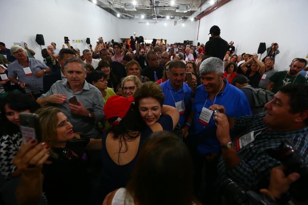 O golpe não tem candidato para concorrer com Lula — Dilma