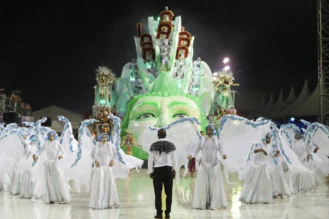 FLORIANOPOLIS, SC, BRASIL, 10/02/2018: Carnaval 2018 - Embaixada Copa Lord (foto: CRISTIANO ESTRELA / DC)